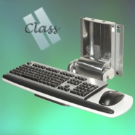 ErgonoFlex Keyboard-Mouse Support INTOP 4 H Class Flip Up Wall Mount