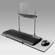 Universal Tray for Keyboard and Mouse