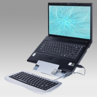 ErgonoFlex Height-adjustable laptop enhancer from 151 to 211 mm