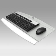 ErgonoFlex Eco Style Keyboard and Mouse Platform