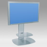 "Stand foot, Vision Pro 100 cm for 1 screen 32 ""- 60"" 75 Kg"