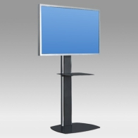 "Stand foot, Pro Vision 150 cm for 1 screen 32 ""- 60"" 75 Kg"