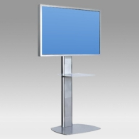"Stand foot, Pro Vision 150 cm for 1 screen 32 "" -60"" 75 Kg"