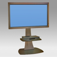 "Foot Stand Vision Curve 150 cm for 1 screen of 32 "" -60"" 75 Kg"