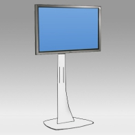 "Foot Stand Vision Curve 150 cm for 1 screen of 32 ""- 80"" 75 Kg"