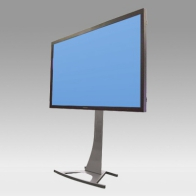 "Foot Stand Vision Curve 200 cm for 1 screen 50 ""- 108"" 60 Kg"