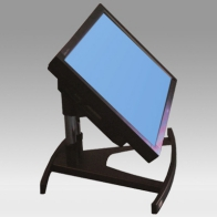 "Stand foot Vision Tube 56 cm for one screen of 32 ""- 80"" 60 Kg"