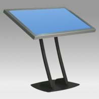 "Stand foot, Vision Hall 100 cm for 1 screen 30 ""- 57"" 80 Kg"