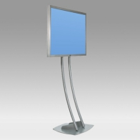 "Stand foot, Vision Hall 183 cm for 1 screen 30 ""- 57"" 80 Kg"