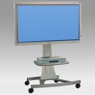 "Stand Cart, Vision Curve 100 cm for 1 screen 32 ""- 60"" 75 Kg"