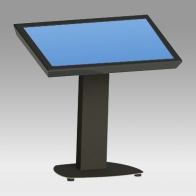 "Foot Stand Vision Touch 100 cm for 1 screen 30 ""- 57"" 80 Kg"