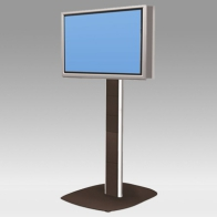 "ErgonoFlex Foot Stand, Vision Pro 150 cm for 2 back-to-back screens from 32 ""- 60"" to 75 Kg"