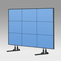 "ErgonoFlex Foot Stand Vision Tube 205 cm for 9 screens of 40 ""- 46"" 35 Kg"