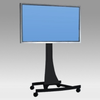 "Stand Cart, Vision Curve 120 cm for 1 screen 32 ""- 80"" 100 Kg"