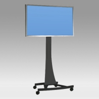 "Stand Cart, Vision Curve 150 cm for 1 screen 32 ""- 80"" 75 Kg"