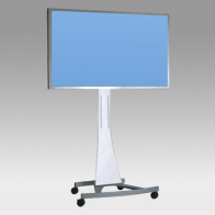 "Stand Cart, Vision Curve 150 cm for 1 screen of 32 ""- 80"" 100 Kg"