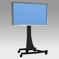 "Stand Cart, Vision Curve 150 cm for 1 screen 71 ""- 108"" 250 Kg"