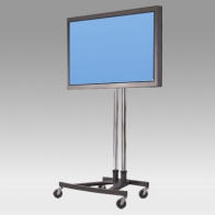 "Stand Cart, Vision Tube 190 cm for 1 screen of 32 ""- 80"" 80 Kg"