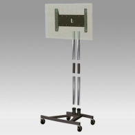 "Stand Cart, Vision Tube 180 cm removable for 1 screen from 32 ""- 80"" 60 Kg"