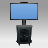 "Stand Cart, Vision MCC Design Visio 150 cm for 1 screen 32 ""- 60"" 60 Kg"