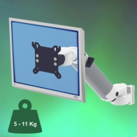 ErgonoFlex Medical Monitor Arm 300 mm height adjustable, wall mount