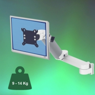 ErgonoFlex Medical Monitor Arm 300 + 240 mm height adjustable, wall mount