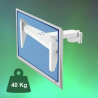ErgonoFlex 300 mm horizontal arm equipped with a VESA adapter 400 x 600 tilt 12.5 ° Medical column mounting