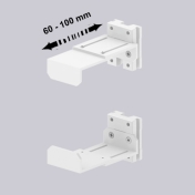 Support CPU Ajustable CPU holder Adjustable 60-100 mm mounting on Wall Rail