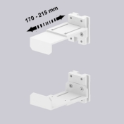 CPU holder Adjustable 170-215 mm mounting on Wall Rail