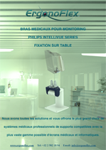 Our Medical Arms for Philips Intellivue Series Monitoring Table mounting