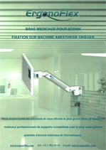 Our Medical Display Arms Machine mounting Anesthesia Dräger