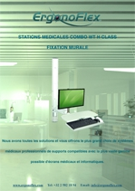 Medical Stations Combo WT H Class height adjustable wall mount