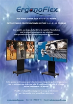 PROFESSIONAL STANDS FOR 3 - 4 - 9 - 12 MONITORS