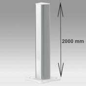 Medical Column Height 2000 mm Floor or ceiling mounting