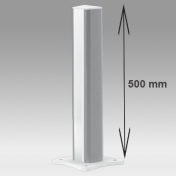 Medical Column Height 500 mm Work surface mounting